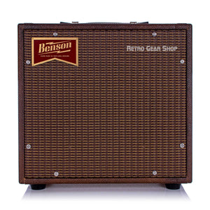 Benson Amps Nathan Junior Bourbon Burst Oxblood Vox Jr. 5W Tube Amplifier 1x10 Reverb Combo Amp