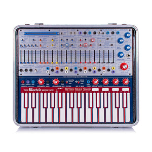 Buchla Music Easel + iProgram Aux Mod double card Modular Analog Synth Synthesizer