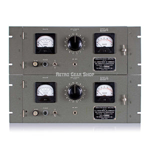 U.S. Department of Commerce CAA Tri-tronics Laboratory Vintage Rare Tube Compressor CA-1782 Limiter Pair