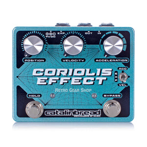 Catalinbread Coriolis Effect Multi FX Wah Delay Pitch Shifter Harmonizer Guitar Effect Pedal