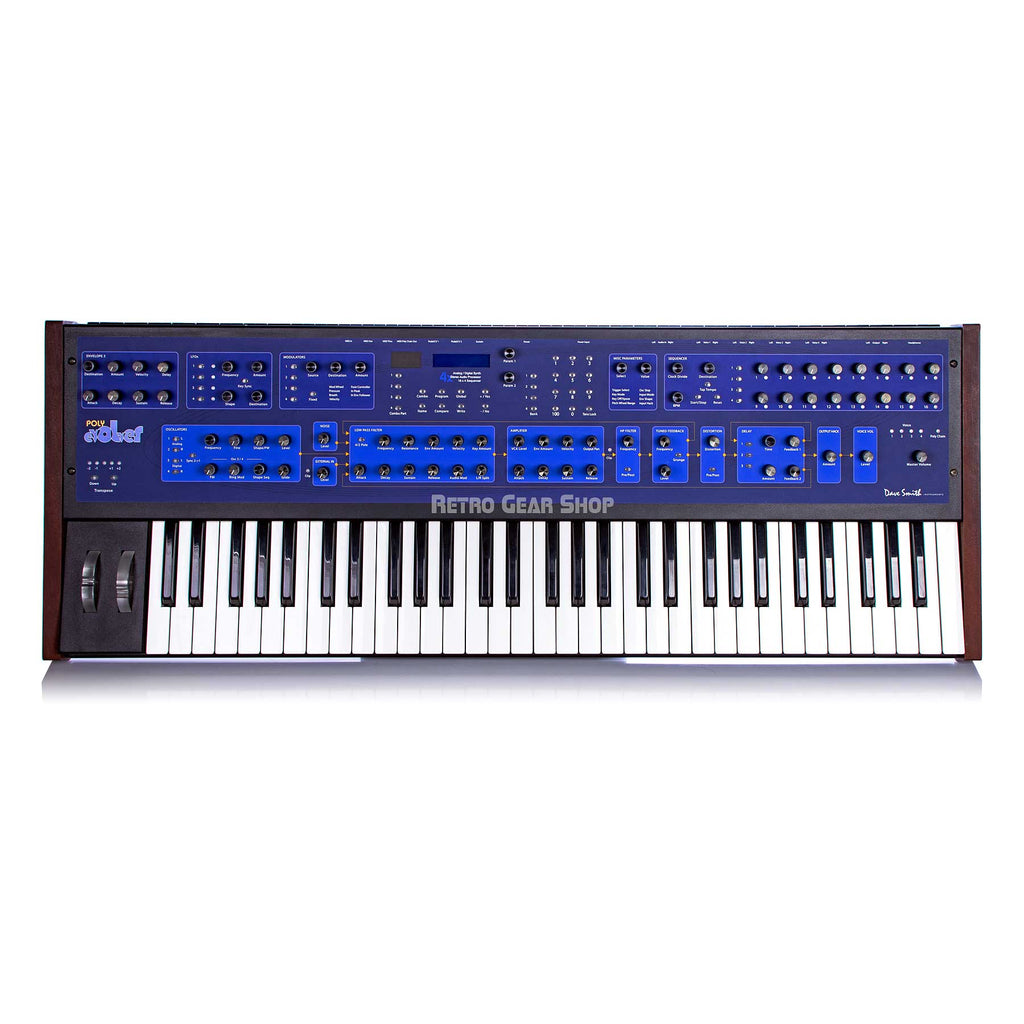 Dave Smith Instruments Poly Evolver Polyphonic Synthesizer PE Potentiometer Edition DSI Keyboard