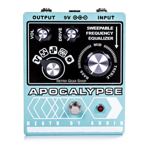 Death By Audio Apocalypse Fuzz Distortion Overdrive Guitar Effect Pedal