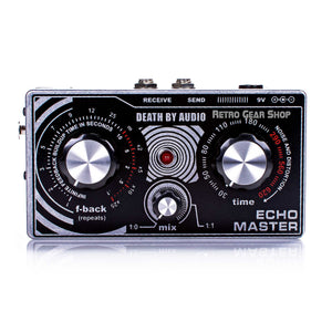 Death By Audio Echo Master Guitar Effect Pedal Delay Modulation