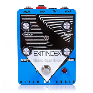 Death By Audio Exit Index Fuzz Tremolo