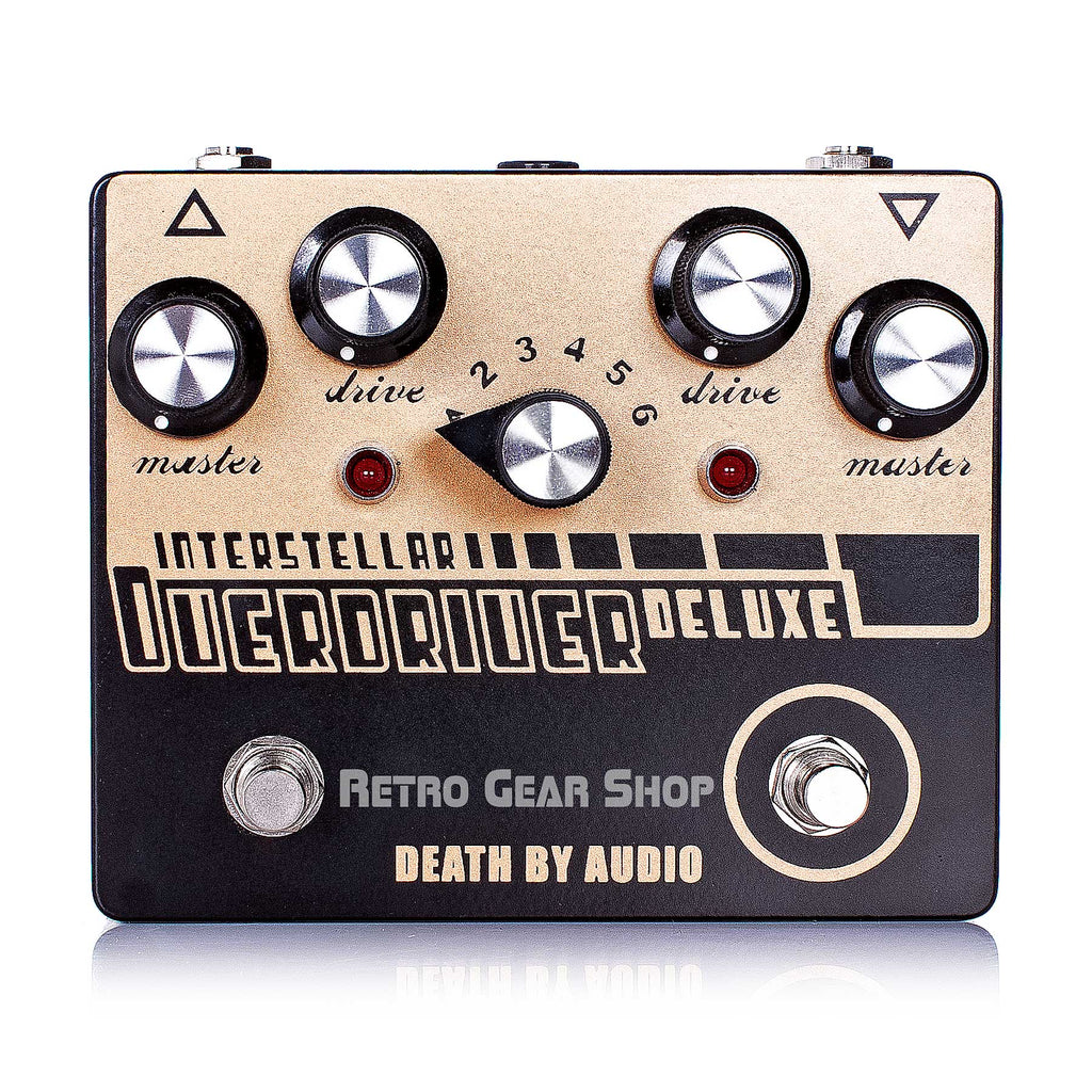 Death By Audio Interstellar Overdriver Deluxe Guitar Effect Pedal Distortion Overdrive