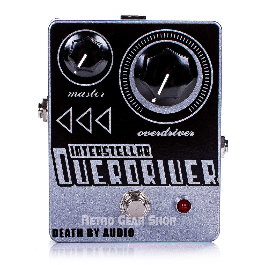 Death By Audio Interstellar Overdriver Guitar Effect Pedal Distortion Overdrive