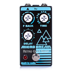 Death By Audio Micro Dream Guitar Effect Pedal Delay