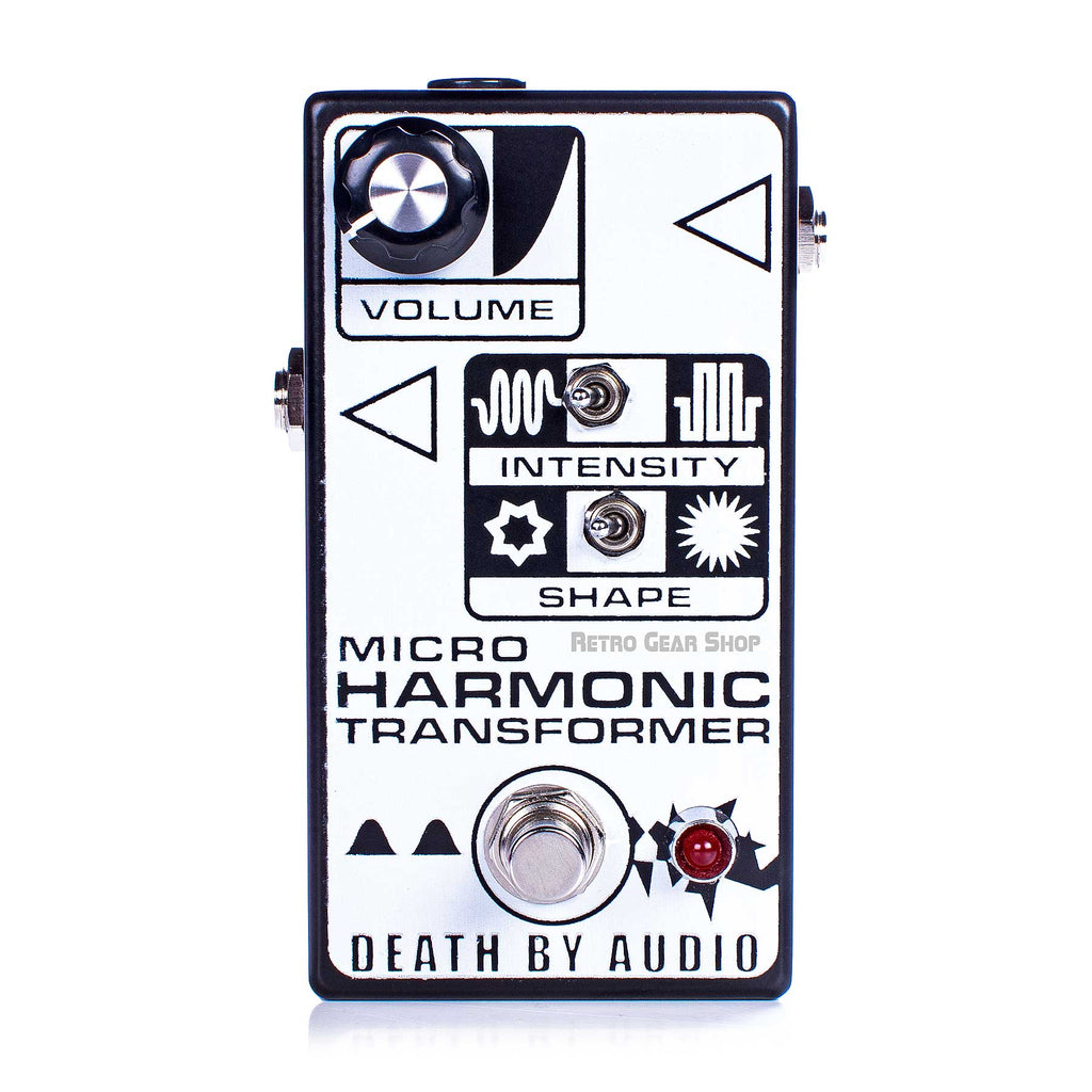 Death by Audio Micro Harmonic Transformer Fuzz Guitar Effect Pedal