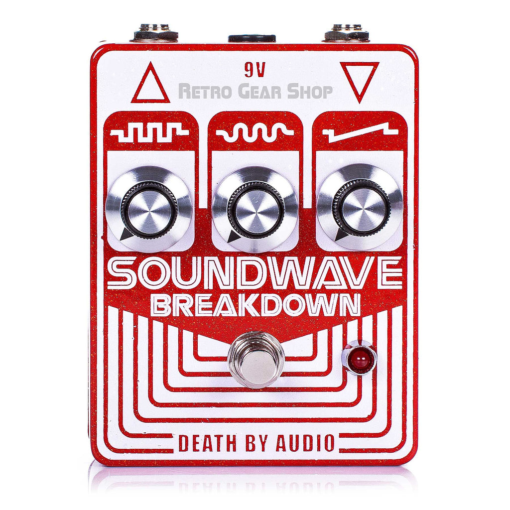 Death By Audio Soundwave Breakdown Guitar Effect Pedal Fuzz