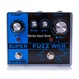 Death by Audio Super Fuzz War Limited Edition Guitar Effect Pedal