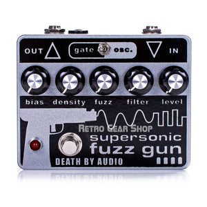 Death By Audio Supersonic Fuzz Gun Guitar Effect Fuzz Distortion