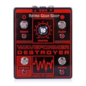 Death By Audio Waveformer Destroyer Fuzz Distortion