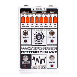 Death By Audio Waveformer Destroyer Mk2 DBA Custom Limited Edition Fuzz Pedal