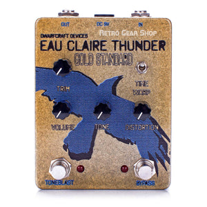 DwarfCraft Devices Eau Claire Thunder Gold Standard Fuzz Pedal