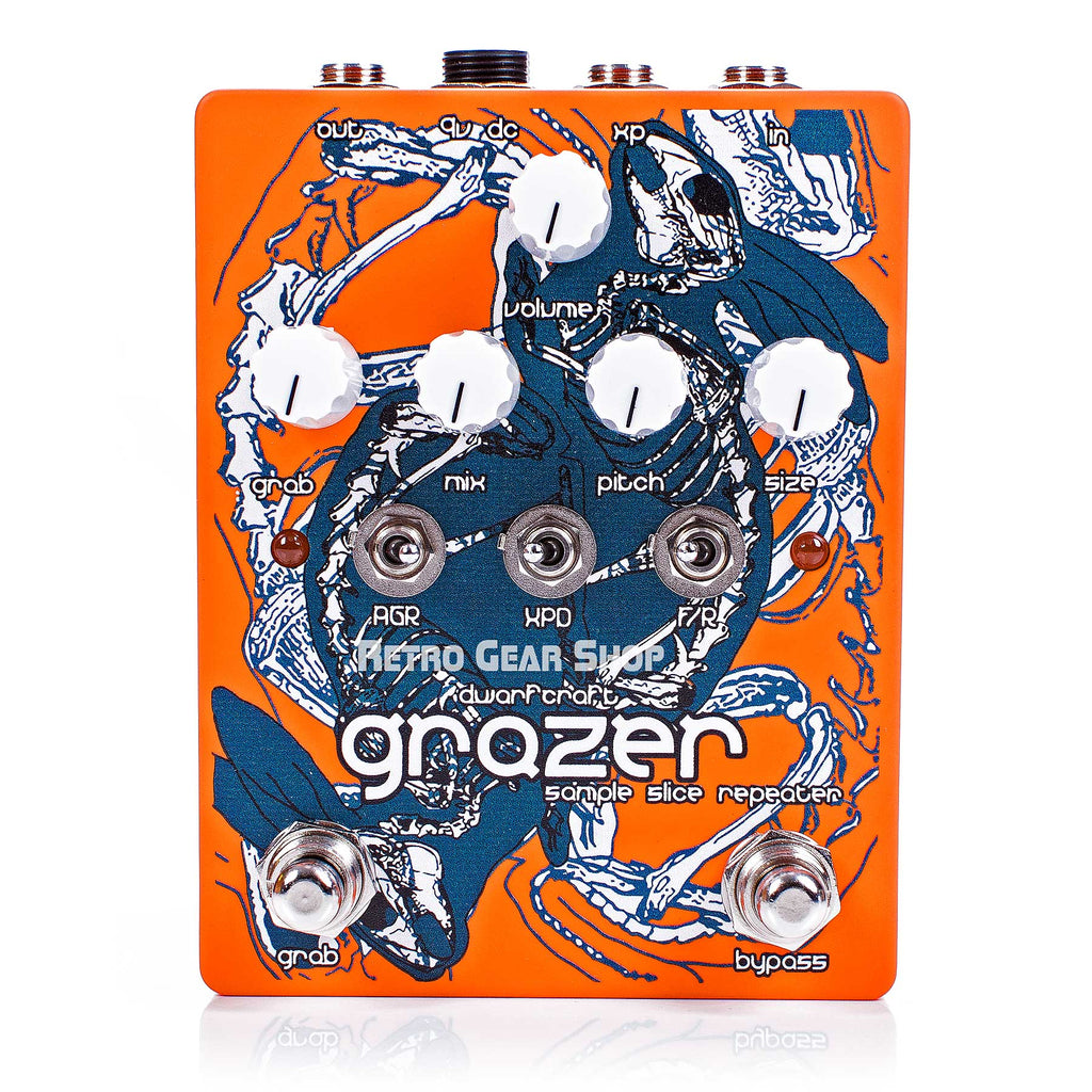 Dwarfcraft Devices Grazer Granular Repeater Glitch Machine