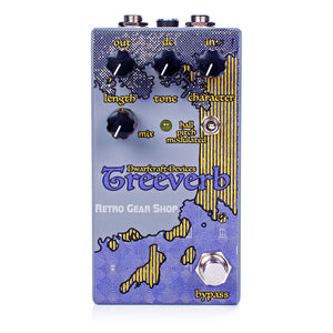 Dwarfcraft Devices Treeverb Reverb Guitar Effect Pedal