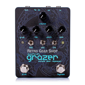 Dwarfcraft Devices Grazer Black Ice Limited Edition Guitar Effect Pedal