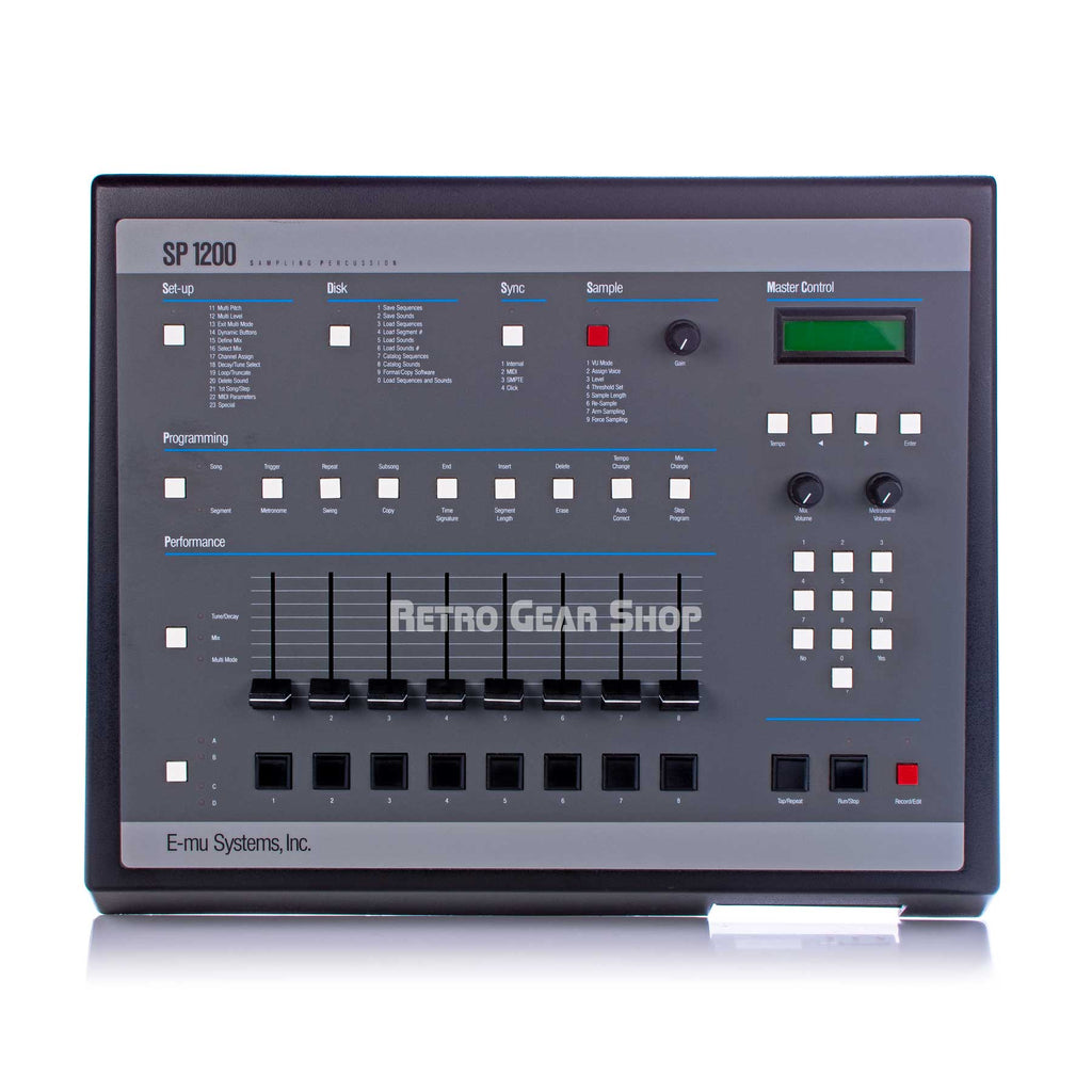 E-Mu SP-1200 Sampler Drum Machine Vintage Rare Lotharek HxC Emulator SD Drive
