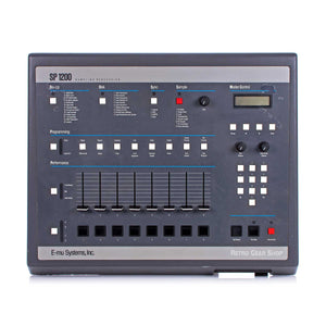 E-mu Systems SP-1200 Emu SP1200 Emulator Rare Vintage Analog Drum Machine Sampler Synthesizer