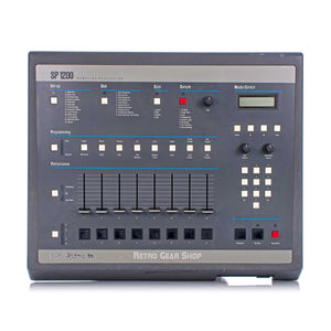E-Mu SP-1200 Drum Machine Sampler OG Gray Vintage Rare Emu SP1200