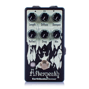 EarthQuaker Devices Afterneath V3 Otherworldy Modulated Reverb Guitar Effect Pedal
