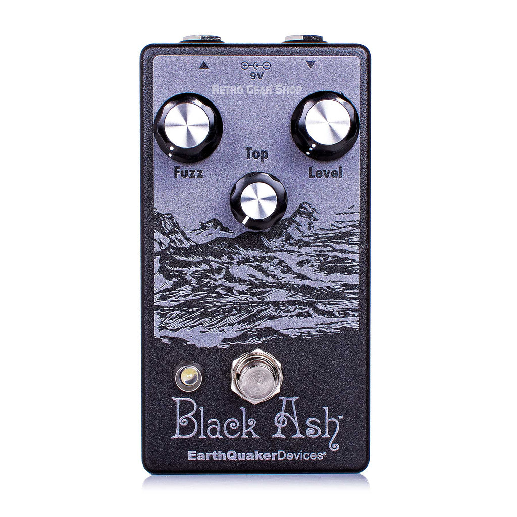 EarthQuaker Devices Black Ash Endangered Fuzz Guitar Effect Pedal