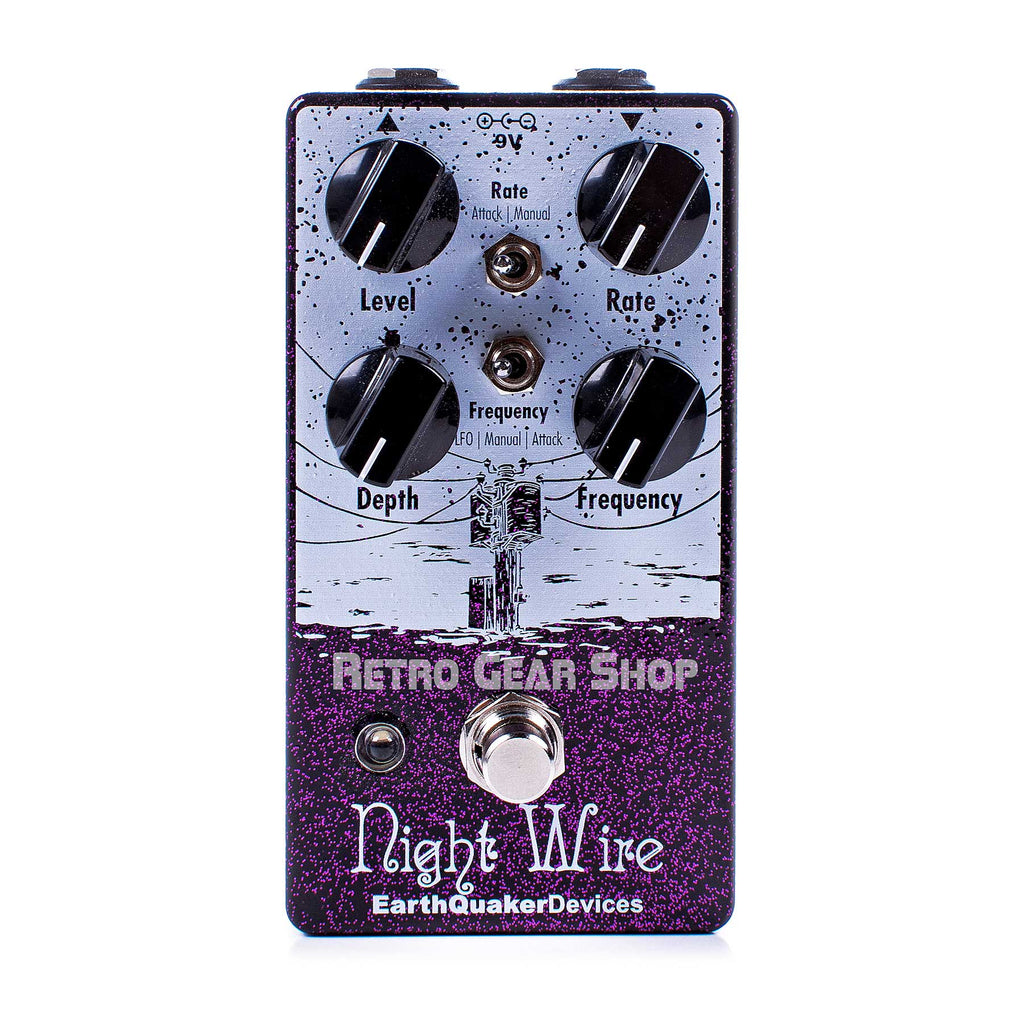 EarthQuaker Devices Night Wire V2 Harmonic Tremolo