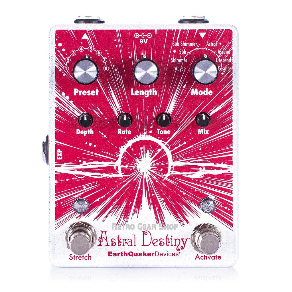 EarthQuaker Devices Astral Destiny Octal Octave Reverberation Odyssey Reverb Guitar Effect Pedal