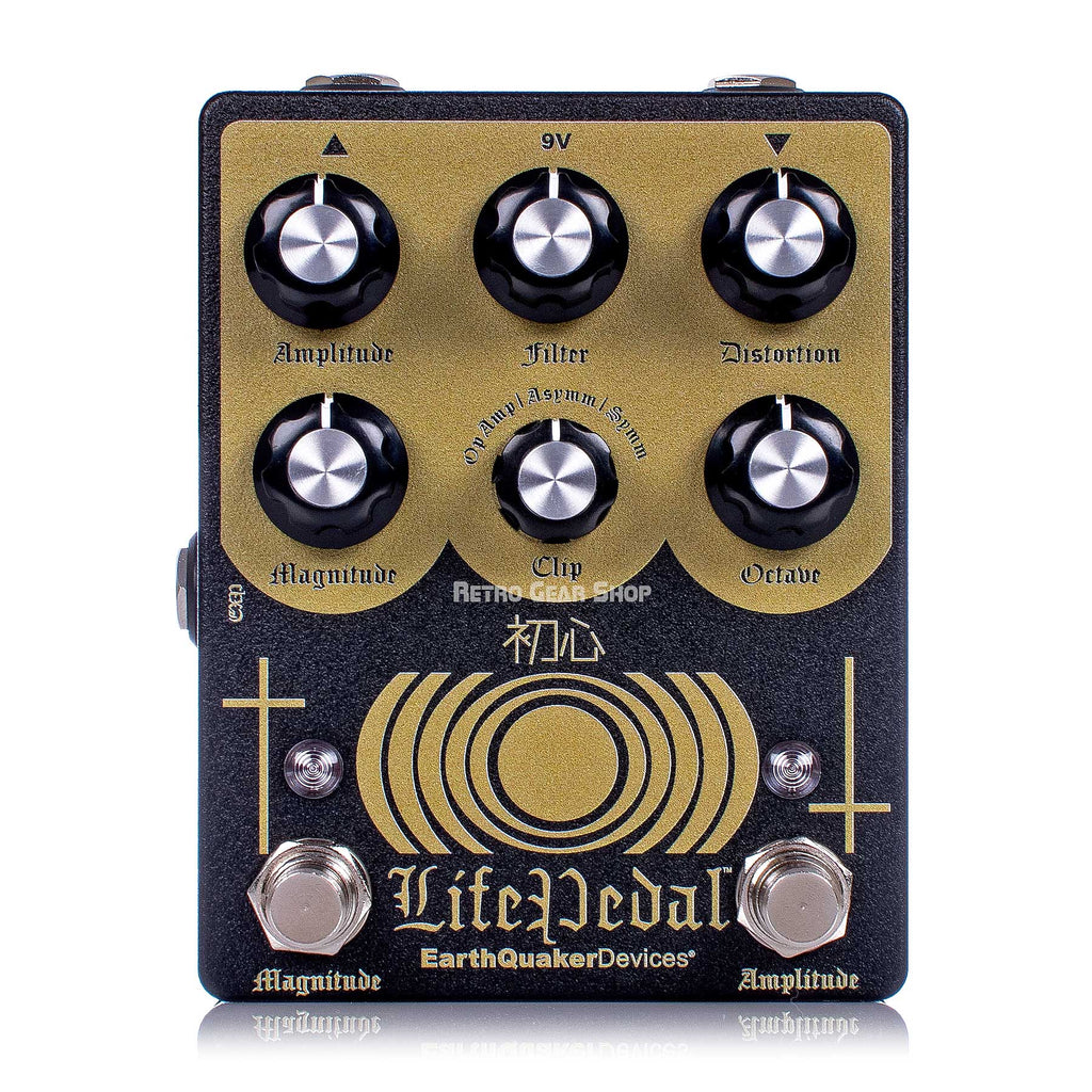 Earthquaker Devices Life V2 Octave Distortion Boost Analog Limited Edition Guitar Effect Pedal