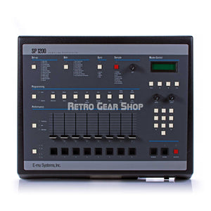 E-Mu SP-1200 Final Edition #112 Vintage Sampler Drum Machine