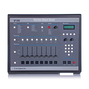 Emu SP1200 Minty + Box Vintage Sampling Drum Machine Reissue E-Mu SP-1200 12 Rare