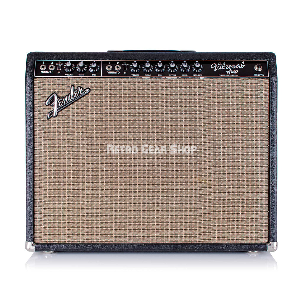 Fender Vibroverb Combo Amp Rare Vintage Guitar Tube Amplifier