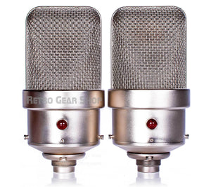 FLEA Microphones 49 Sequential Stereo Matched Pair