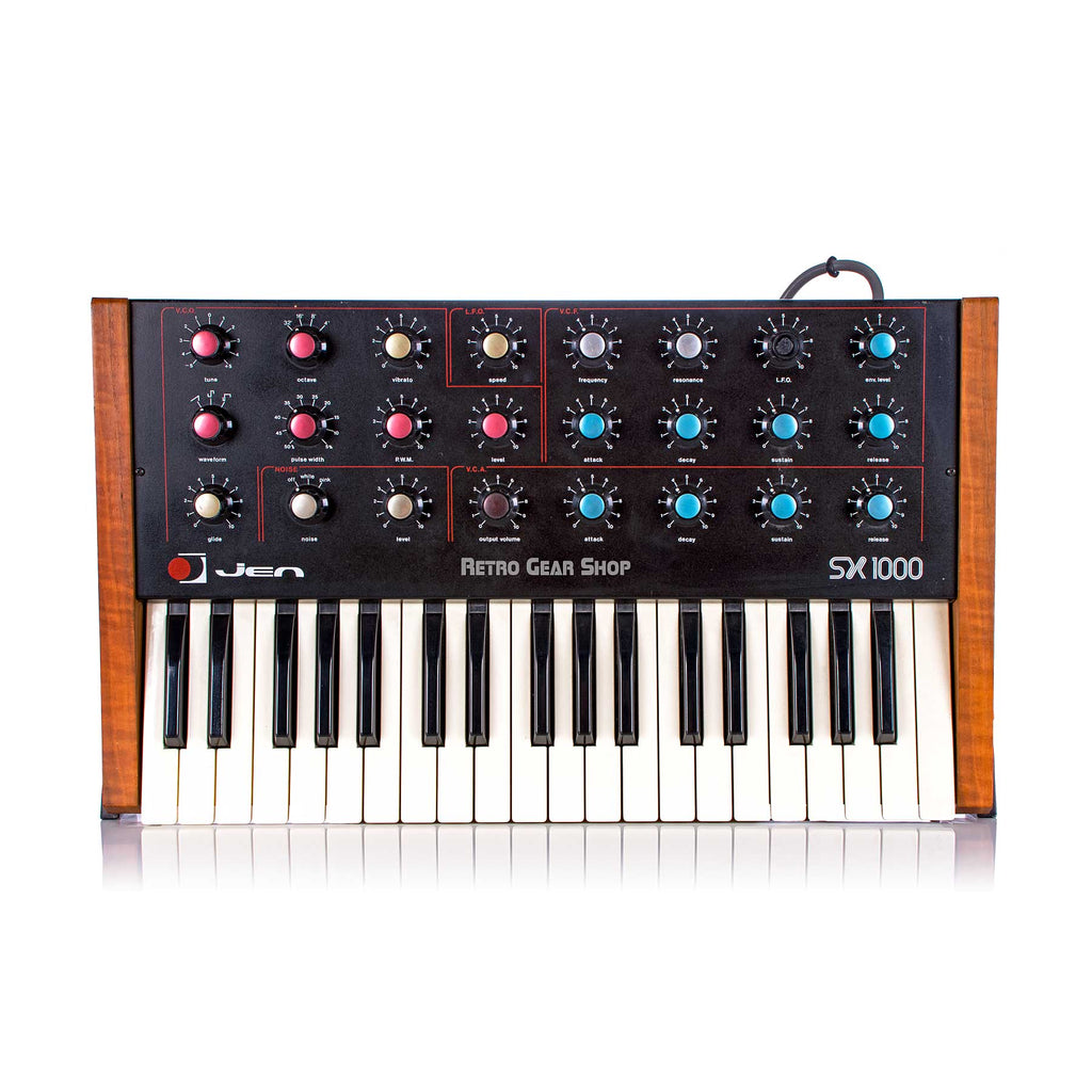 Jen Elettronica SX1000 Rare Italian Vintage Analog Synthesizer Mono Synth