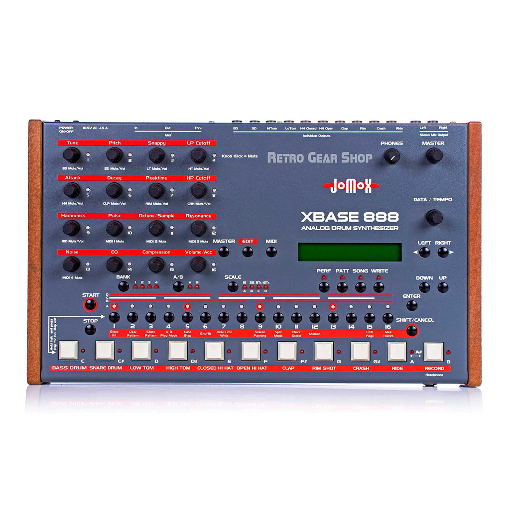 JoMoX Xbase 888 Analog Drum Machine Synthesizer Synth