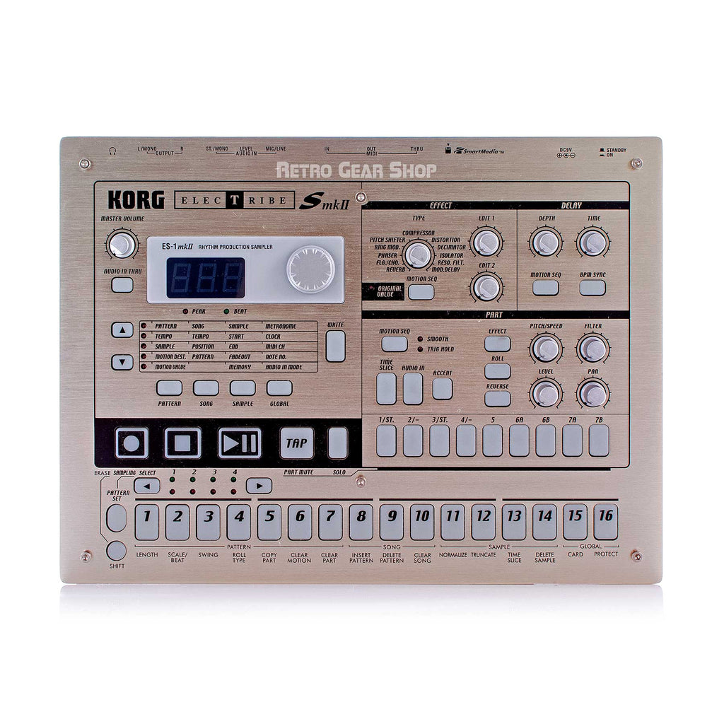 Korg Electribe ES-1 Mk2 MkII Rhythm Production Sampler