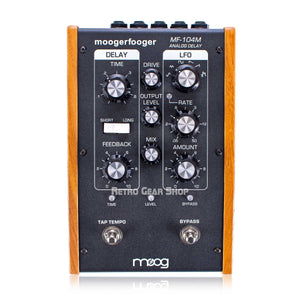 Moog Moogerfooger MF-104M Analog Delay New in Box MF104M Guitar Effect Pedal