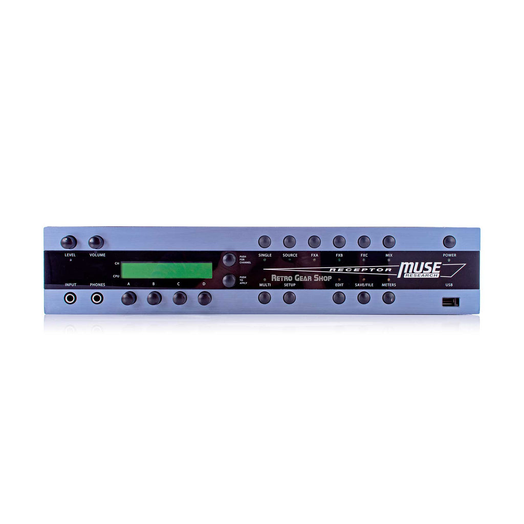 Muse Research Receptor Pro 2U Rackmount Hardware VST Plug-In Player