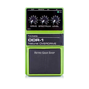 Nobels ODR-1 Natural Overdrive Guitar Effect Pedal