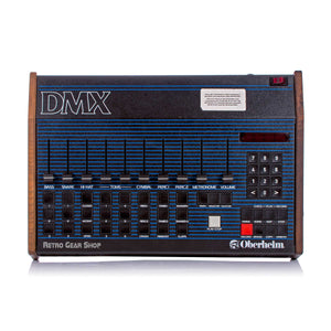 Oberheim DMX + Midi + Eproms Rare Vintage Analog Drum Machine Synthesizer
