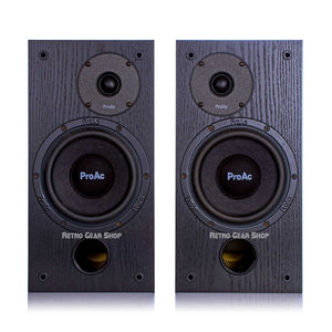 ProAc Studio SM 100 Passive Studio Monitors Pair Black SM100 Speakers
