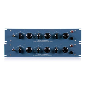 Pultec MEQM-5 Mid-Range Mastering Version Equalizer Sequential Stereo Pair Tube EQ MEQM5