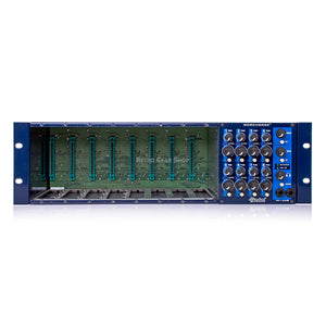 Radial Workhorse 8-Slot Powered 500 Series Rack with Summing Mixer