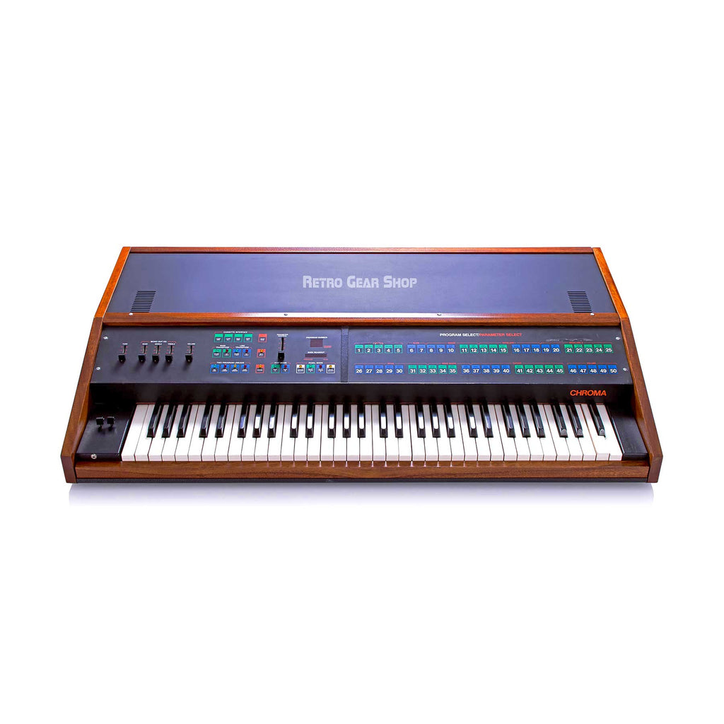 Arp Rhodes Chroma Keyboard Rare Vintage Analog Polysynth Synthesizer Synth Custom Wood Minty