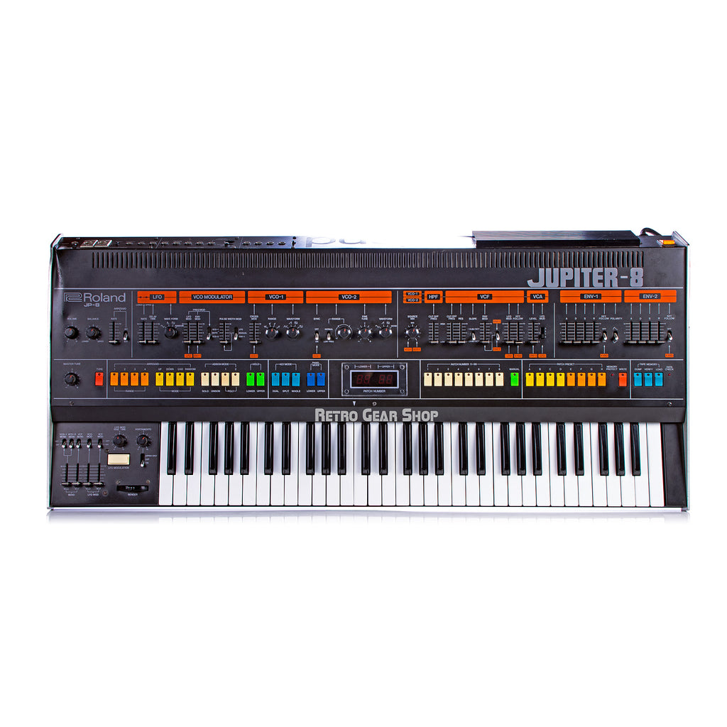 Roland Jupiter-8 JP8 Encore Midi Vintage Analog Synthesizer Synth Keyboard
