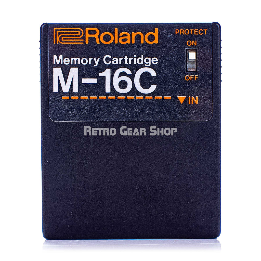 Roland M-16C Memory Cartridge Vintage Rare for JX-10 M16C