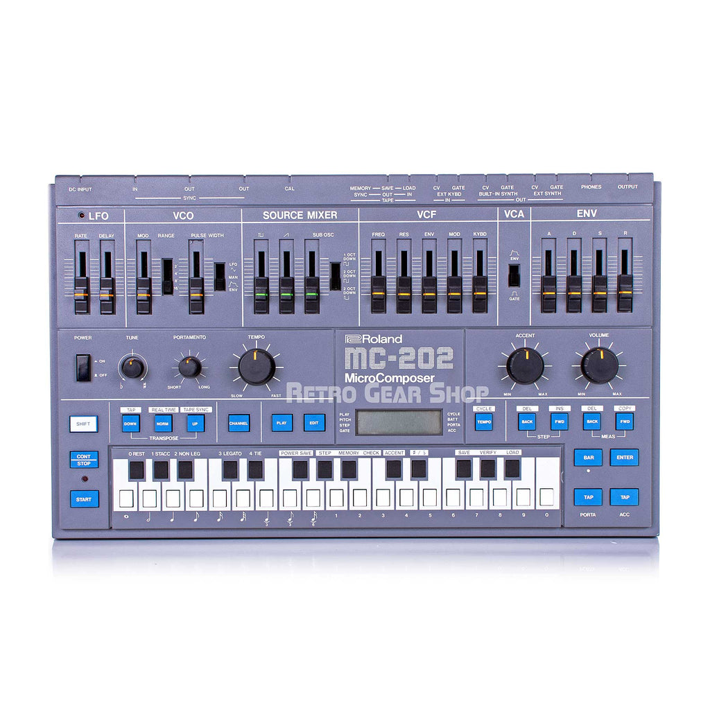 Roland MC-202 Micro Composer Vintage Rare Analog Synthesizer Mint