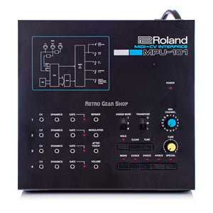Roland MPU-101 Midi to CV Converter Rare MPU101 Vintage Analog Synth Synthesizer Eurorack