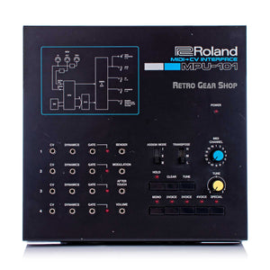 Roland MPU-101 Midi to CV Converter Rare MPU101 Vintage Analog Synth Synthesizer Eurorack #571647