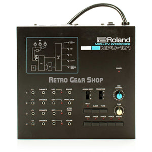 Roland MPU-101 Midi-CV Interface Vintage Rare Analog Synthesizer